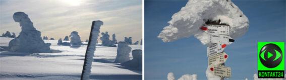 Arktyczny krajobraz na Szrenicy