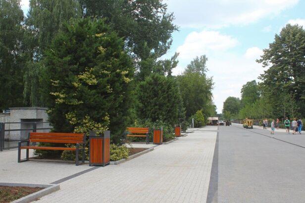 Nowa aleja główna zoo Urząd m.st. Warszawy