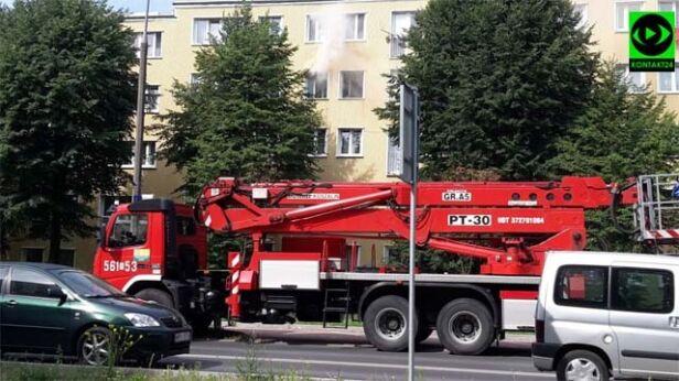 Pożar mieszkania w Piasecznie Gman / Kontakt 24