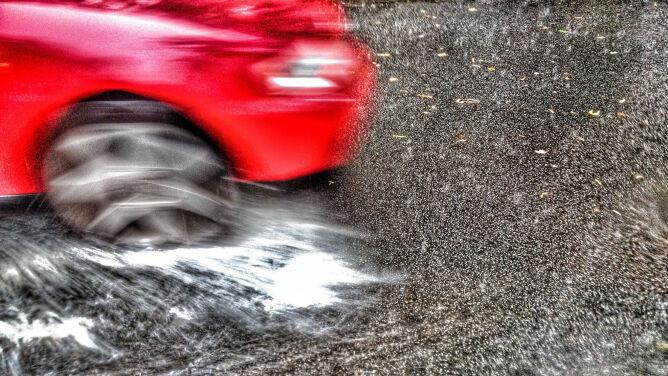 Niekorzystne warunki dla kierowców