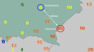 Pogodowa przepaść nad Polską