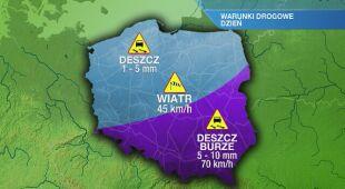 Warunki drogowe w czwartek 01.04