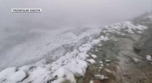 Pierwszy śnieg na Giewoncie