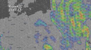 Opady w najbliższych dniach (Ventusky.com) | wideo bez dźwięku